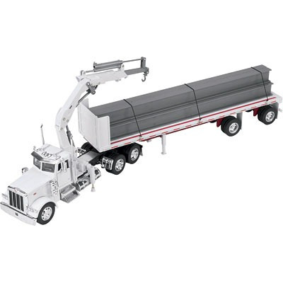 camion peterbilt 379 flatbed w/i-beam1:32 scale