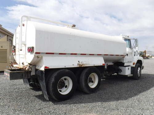 camión pipa tanque para agua cisterna ford 4000g folio 13214