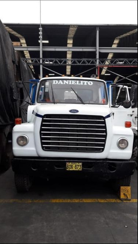 camion plataforma 9mts ford - operativo