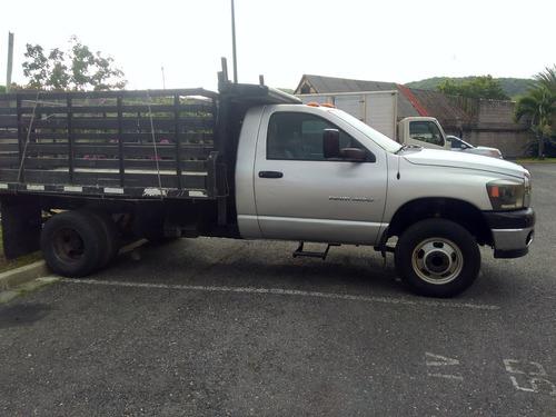 camion plataforma barandas dodge ram 2008 4000 impecable
