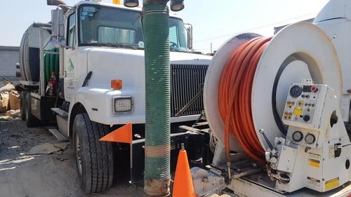 camion presión vacío camel vactor succión