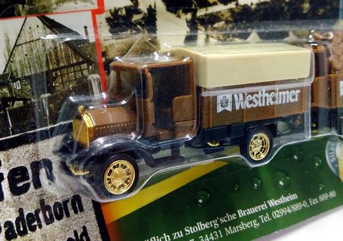 camion publicitario cerveza  westheimer  - 1/87 aprox