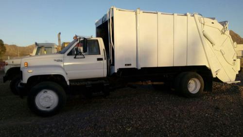 camión recolector de basura gmc