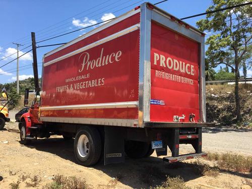 camión refrigerado international año 2010 con unidad carrier