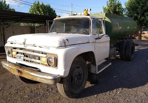 camion regador ford 600