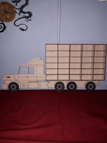 camión repisa