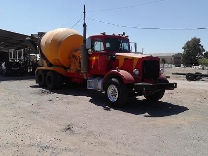 camion revolvedor concreto peterbilt 79,trompo,cono descarga