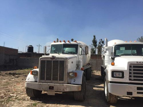 camion revolvedor  concreto peterbilt 90,trompo,canalon secu