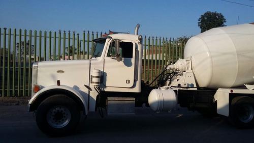 camion revolvedor concreto peterbilt 97,trompo,canalon auxil
