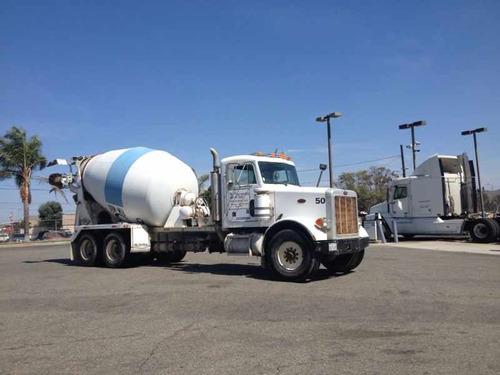 camion revolvedor de concreto peterbilt 1992,trompo,chicote
