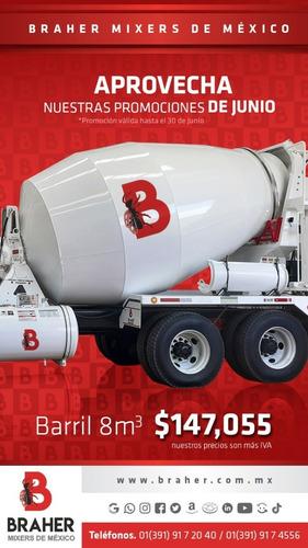 camión revolvedor de concreto sterling 2006 8 metros cubicos