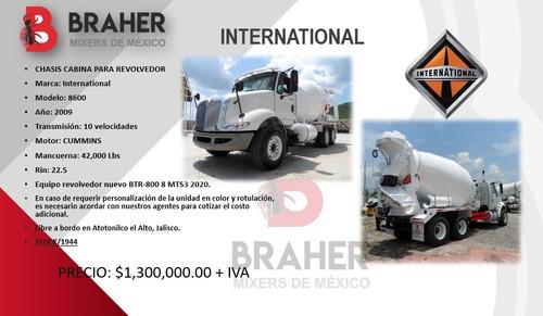 camión revolvedora de concreto international 2009