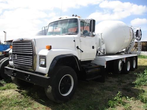 camion revolvedora ford mezclador de concreto 1994