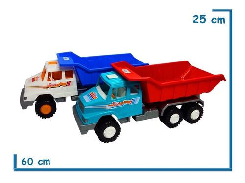 camion riva truck volcador calesita  65 cms mercedes benz