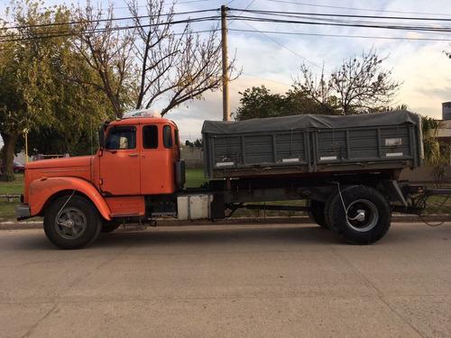 camion scania 111 con volcadora trivuelco