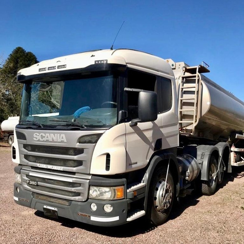 camion scania p 360 ´14 tractor balancin 6x2  $ 4000000