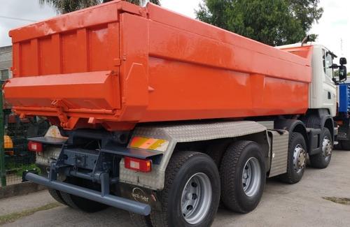 camion scania tatu p420 8x4 volcador