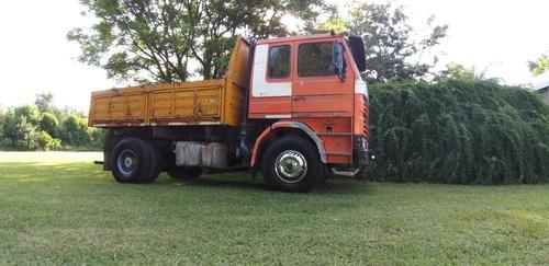 camion scania volcador  1984 solo contado emapart