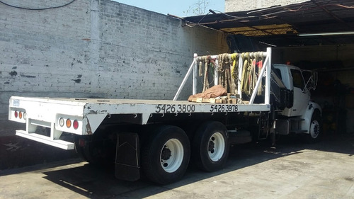 camion sterling 2007 con grua hiab para 10 ton