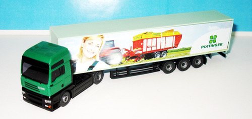 camion steyr pottinger - escala 1/87 wiking (germany)