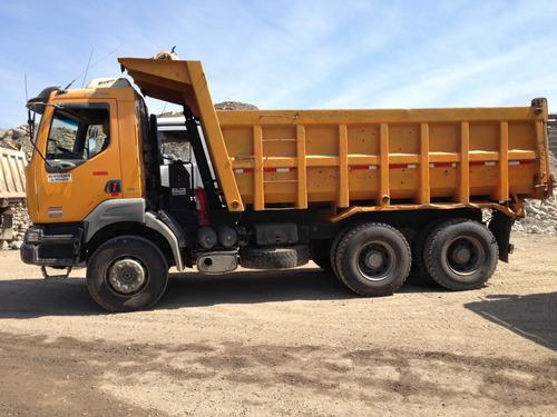 camión tolva 14 m3 renault kerax 370 - 2007