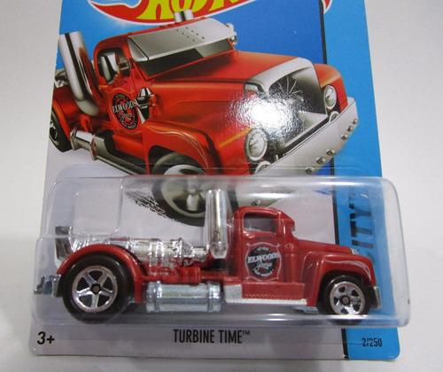 camion tractomula turbine time coleccion escala hot wheels
