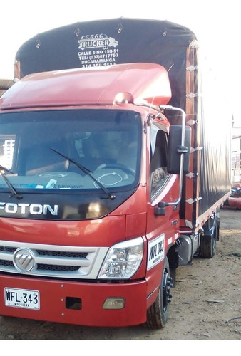 camión turbo foton full equipo estacas