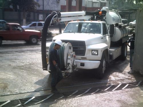 camion vactor limpieza de pozos septicos