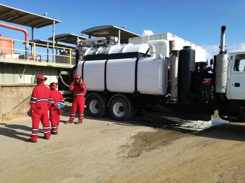 camion vactor vacuum alto vacio hidrojet limpieza industrial