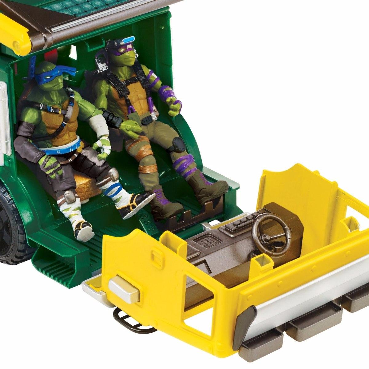 Camion Nickelodeon 2 Ninja Vehiculo Nuevo Tortugas Detallado QtCsrhdx