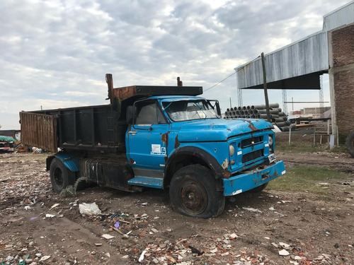 camión volcador 9m3 chevrolet c 60