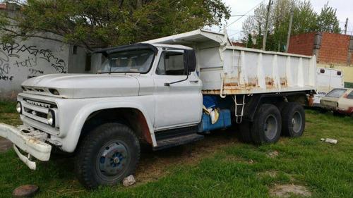 camión volcador balancin