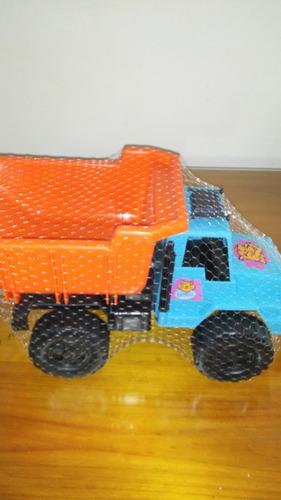 camion volcador gigante arenero para los chicos