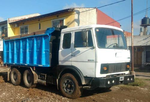 camión volcador tatu