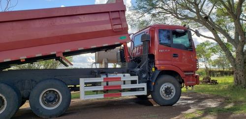 camion volcadora foton 6x4 año 2019 unico dueño