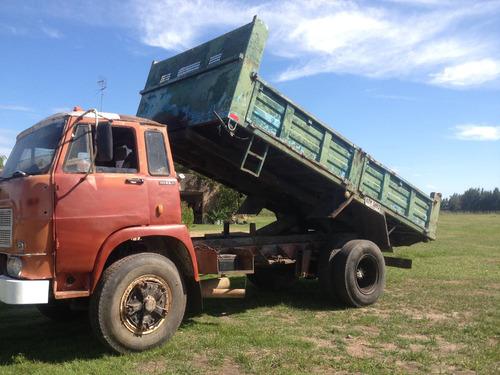 camion volcadora mecanica mercedes permuto