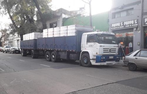 camion volkswagen 23.220 y zorra vendo