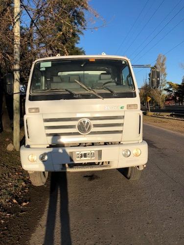camion volkswagen 26 - 260 e trompo hormigonero 8 m3