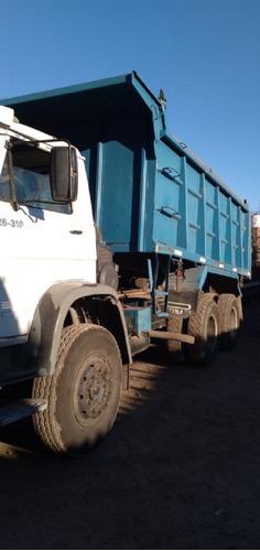 camión volkswagen 26310/46 6x4 con caja volcadora