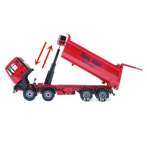 camión volquete de construcción no caterpillar 1:50 escala