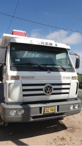 camion volquete volkswagen año 2011