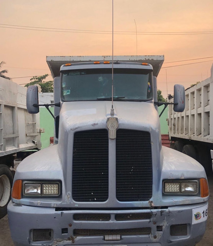 camión volteo kenworth t600