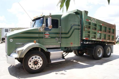 camion volteo kenworth t800