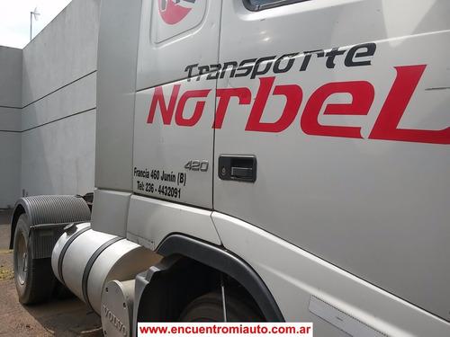 camion volvo 420 2005 entrega 600 y cuotas  multicamju