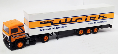 camion volvo f12 intercooler - 1/87 h0 amw (germany)