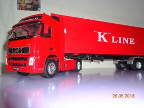 Fh Con Porta 12 Camion En 132 Volvo Escala Semi Contenedor 3KclTF1J