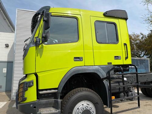camion volvo fmx 500 4x4 crew cab. motorhome. dolar oficial.