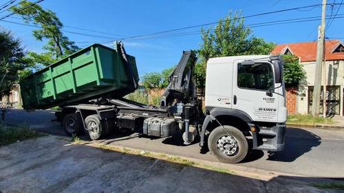 camion vw 17280 roll off con hidrogrua