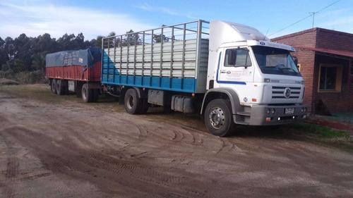 camión vw worker 17250 y zorra cir