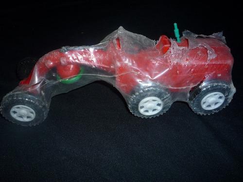 camion y cosechadora plastico inflado